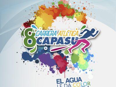 """Todo listo para la 8va Carrera Atlética CAPASU """"El Agua le da color a tu vida"""" •Se rifará una motocicleta y 15 bicicletas entre todos los participantes."""