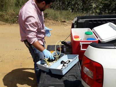CAPASU realiza monitoreo permanente a los colectores y subcolectores de aguas residuales.  •A fin de verificar no se excedan los límites máximos permisibles de contaminantes.