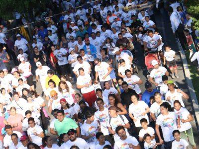 """Éxito total la 8va. Carrera Atlética CAPASU """"El Agua le da color a tu vida"""" •Reunió a más de 3 mil  600 participantes en un gran evento deportivo y familiar"""