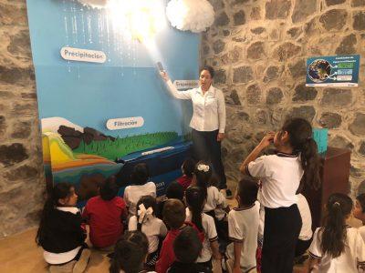 """CAPASU REACTIVA RECORRIDOS EN MUSEO DEL AGUA  •Ubicado en Parque Nacional """"Barranca del Cupatitzio"""""""