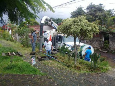 CAPASU desazolva más 50 mil metros de drenaje pluvial y sanitario en lo que va del año.