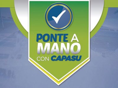 """Arranca campaña """"Ponte a mano con CAPASU""""  • Brindarán 50% de descuento en recargos y gastos de ejecución"""