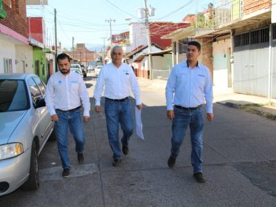 Capasu atiende necesidades de colonia Ramón Farías ° Realizan recorrido de supervisión