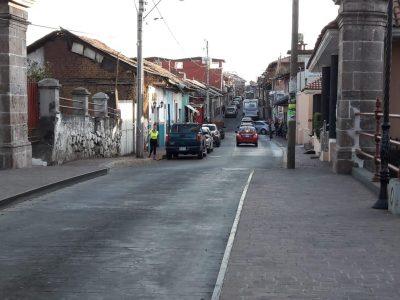 Capasu ampliará la red de drenaje pluvial en la calle Cupatitzio  –Busca prevenir inundaciones la próxima temporada de lluvias